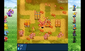 Screenshot of CRYSTAL DEFENDERS Lite