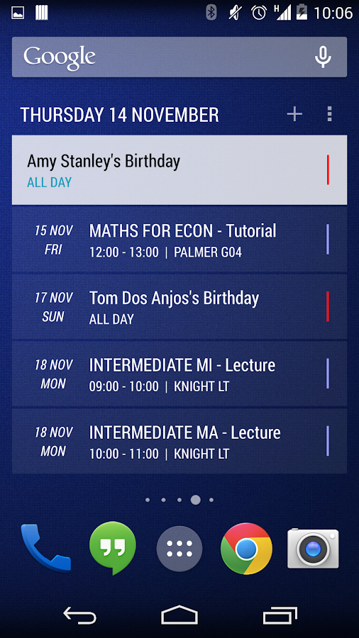 Today - Calendar Widgets - screenshot