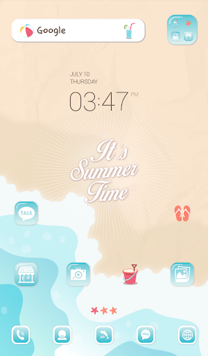 summer time dodol theme