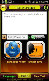Text to Speech - Voice to Text- screenshot thumbnail