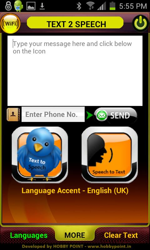 Text to Speech - Voice to Text - screenshot
