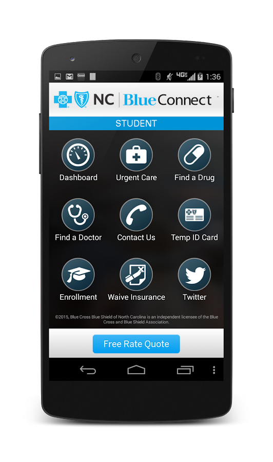 Student Blue Connect Mobile- screenshot
