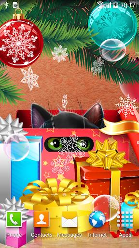 mod Kitten on Christmas Wallpaper 1.0.3 screenshots 3