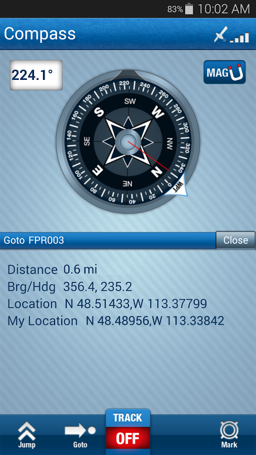 Trimble Outdoors Navigator Pro- screenshot