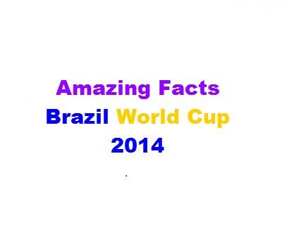Amazing Stats: Brazil 2014