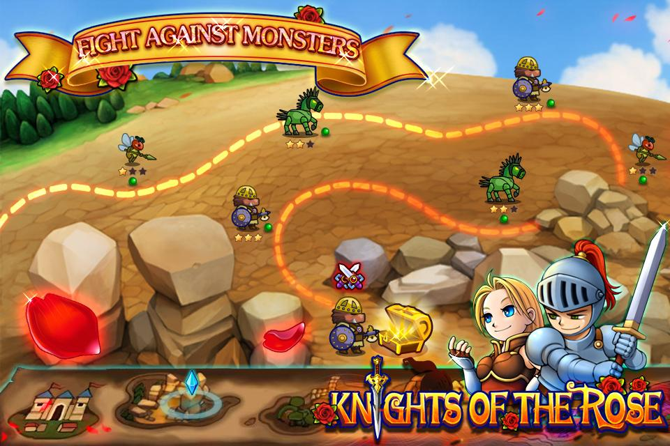 Knights Of The Rose - screenshot
