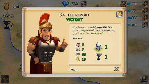 Battle Empire: Rome War Game  screenshots 4