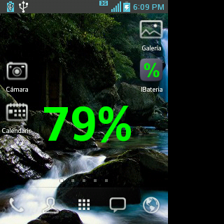 Battery Percentage Charge