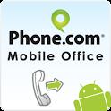 Phone.com – Mobile Office logo
