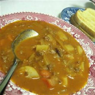 Ground Beef Potato Tomato Soup Recipes.
