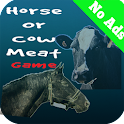 Horse Or Cow Meat Game logo