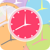 Colorful Analog Clock LiveWP