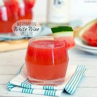 Watermelon White Wine Spritzer.