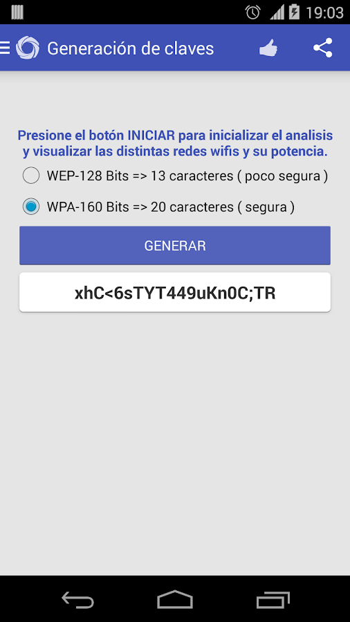 multiWIFI Sweefy: captura de pantalla