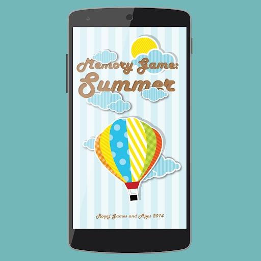 메모리 게임 : 여름