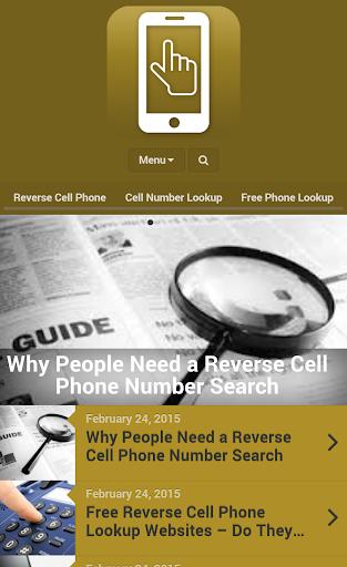 電話番号検索リバース