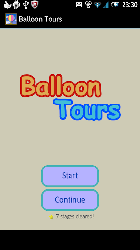 Balloon Tours - scrolling game
