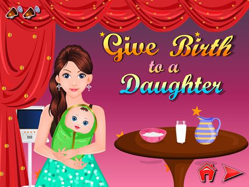 女兒出生的女孩遊戲