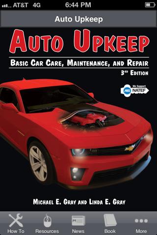 Auto Upkeep - Basic Car Care