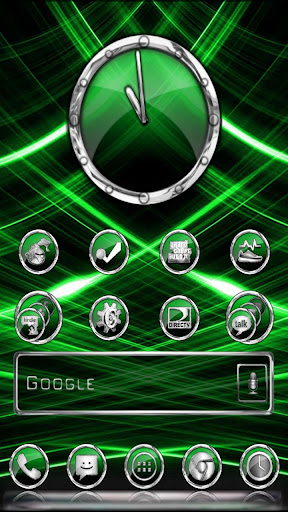 CrystalX HD Multi Theme Green