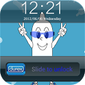 Durex Iphone lock screen icon