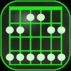 吉他秤书 -  交互式吉他参考 - 音频 (免费) icon