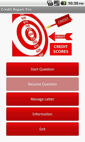 Credit Repair Pro Screenshot