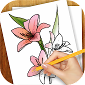 Download Full Learn to Draw Exotic Flowers 1.02 APK