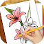 Download Android Game Learn to Draw Exotic Flowers for Samsung
