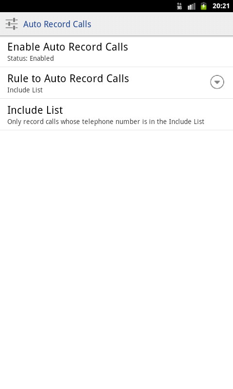 Call Recorder | Boldbeast - screenshot