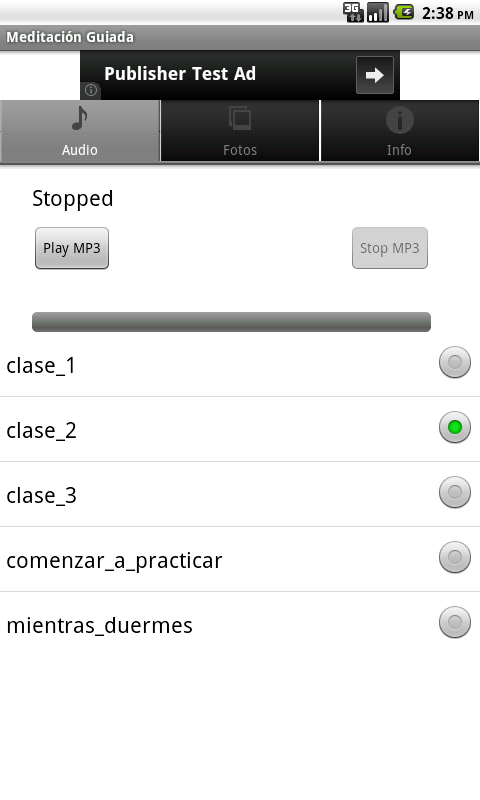 Meditación Guiada- screenshot