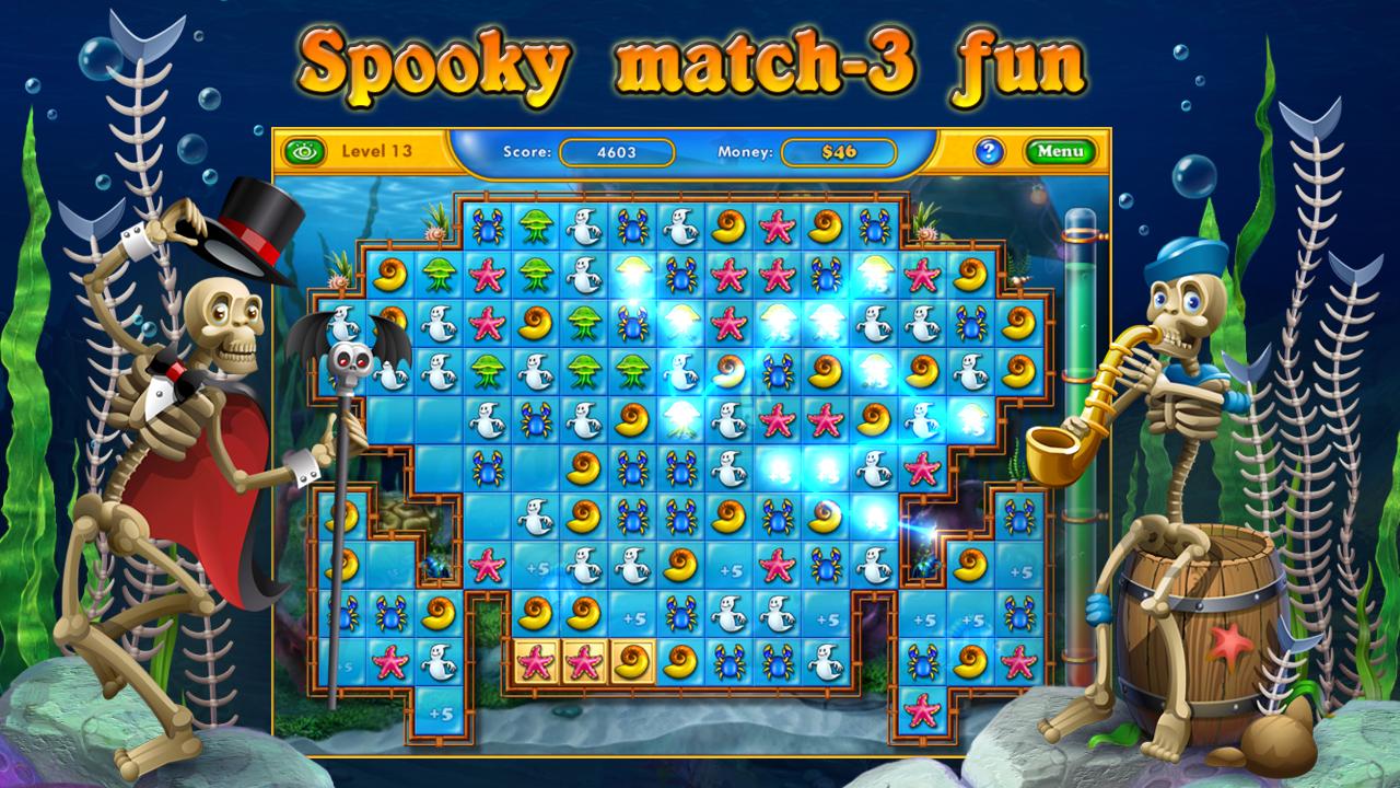 Fishdom Spooky HD- screenshot
