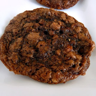 Flourless Peanut Butter & Nutella Oatmeal Cookies.