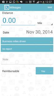 Expense Reports and Management - screenshot thumbnail