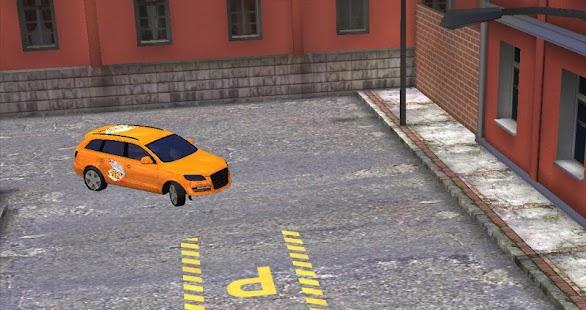 比薩外賣停車3D高清