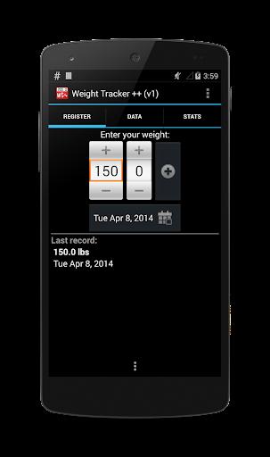 Weight Tracker ++ ver 1