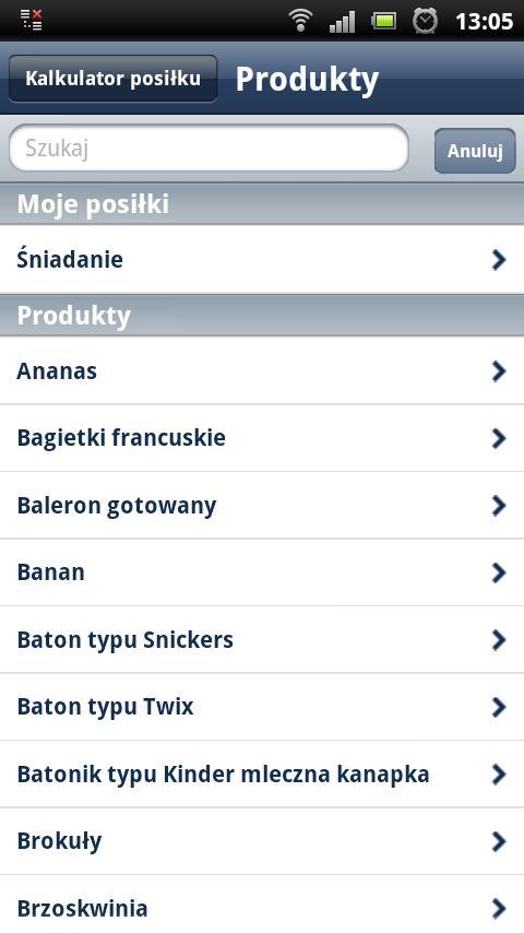 Nasza Cukrzyca- screenshot