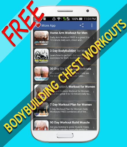 Body Building Chest Workouts