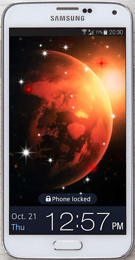 Galaxy Photo HD live wallpaper