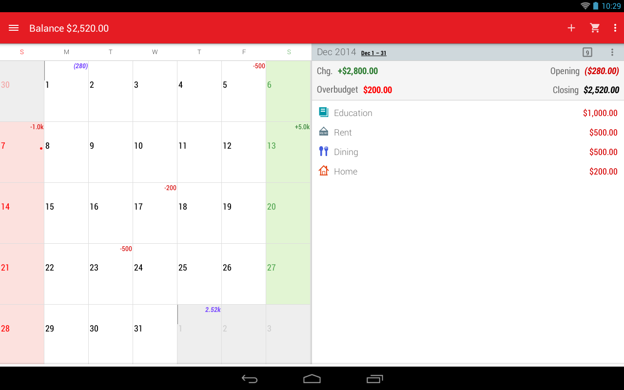 Expense Manager Budget Money Android Apps On Google Play