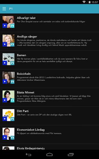 玩新聞App|Sveriges Radio Play免費|APP試玩
