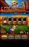 Screenshot of Gold Rush Slot Machine HD