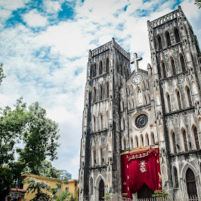 St Joseph Cathederal by Papin Michael - Buildings & Architecture Places of Worship ( st joseph, church, hanoi )