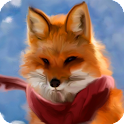 Fox HD Live Wallpaper Animals icon