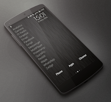 Screenshot of Launchy Widget