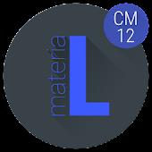 materiaL INDIGO (CM12 THEME)