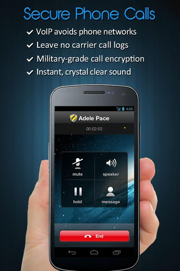 Private Text Messaging & Calls- screenshot
