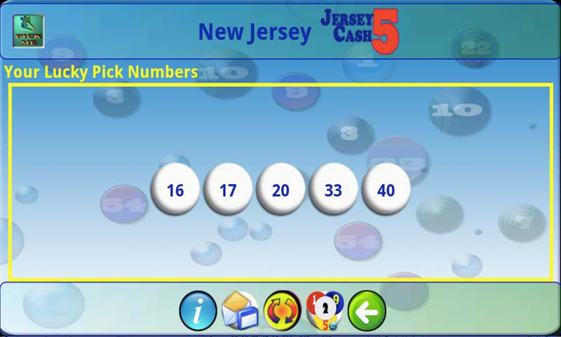 mLottoLuck Lotto Lottery PRO - screenshot