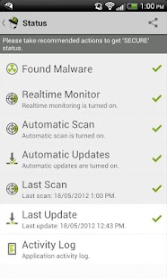 VIRUSfighter Antivirus PRO- screenshot thumbnail