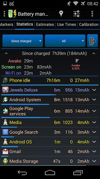 Battery Monitor Widget Pro- screenshot